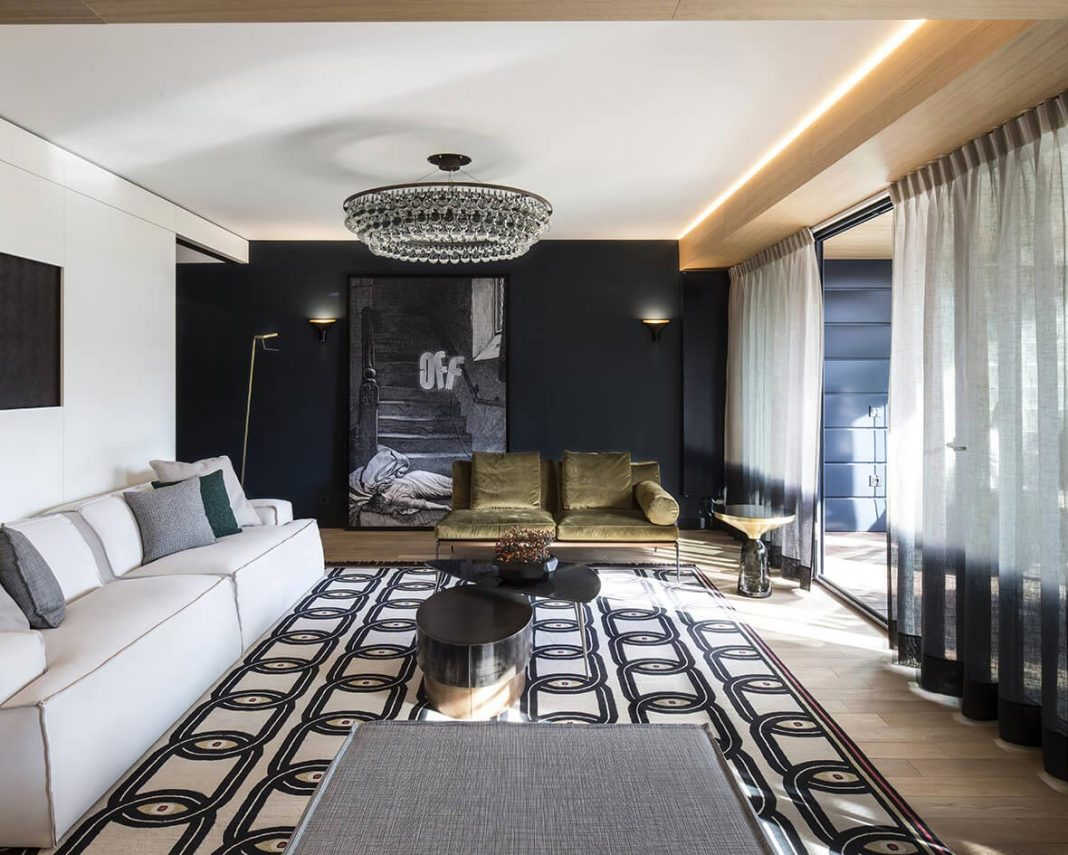 Claude Cartier Studio design a stylish apartment in the French city of Lyon