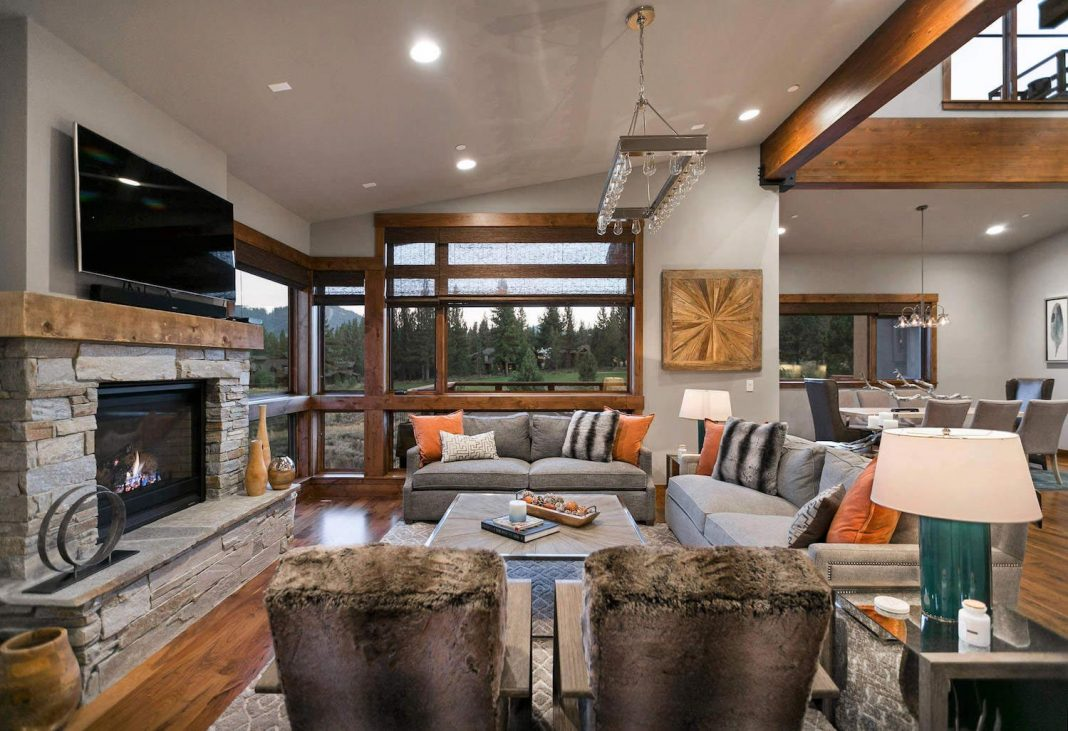 Contemporary Mountain Residence In Truckee California Designed By Summit Sands Home Design