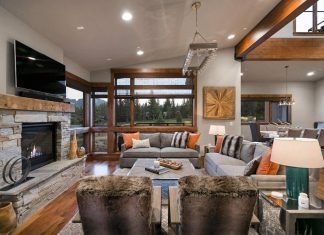 Contemporary mountain residence in Truckee, California designed by Summit & Sands