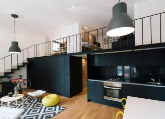 Córdoba-Flat: cozy spaces and a spacious public area with double height