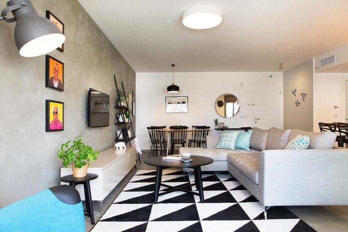 Inspiring modern apartment designed by Dana Shaked