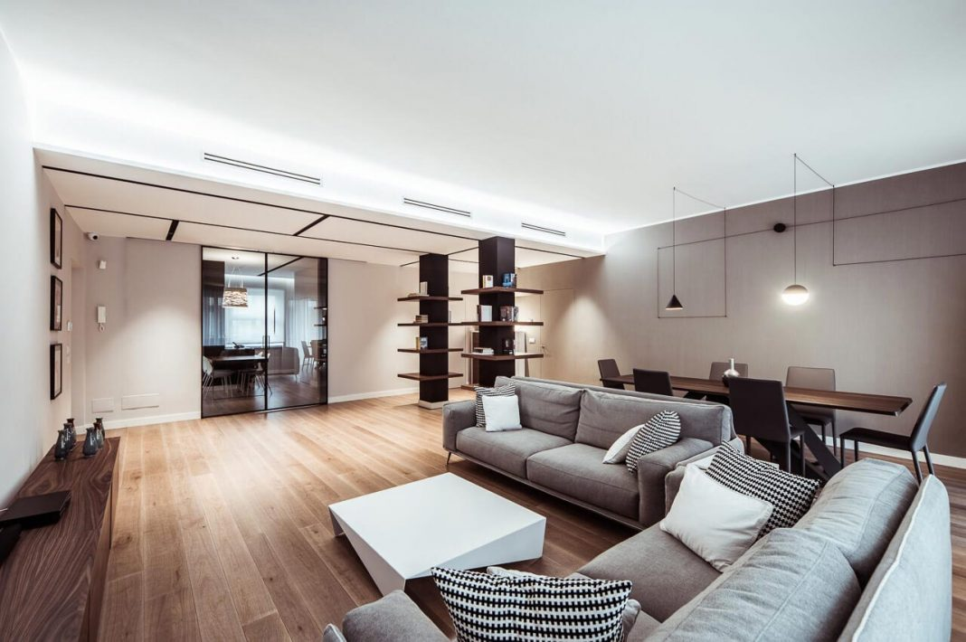 Lamarmora modern apartment in Torino designed by Italia And Partners