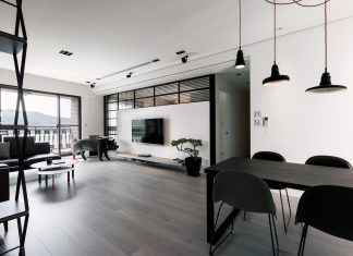 Lin Residence: apartment where every corner and object is in the right designed place