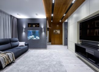 Modern apartment in Khimki, Moscow designed by N-Cube