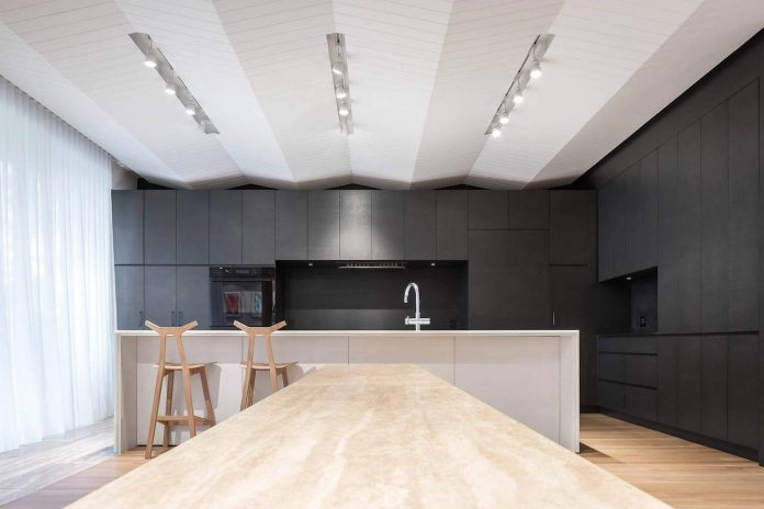 The Modern Rosemary House Fills The Open Floor Plan Living With A
