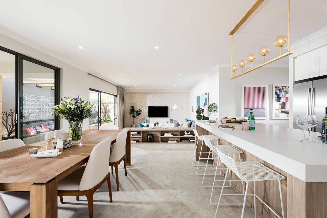 The Nelson Mid Century Modern Style Home Designed And Built By Dale Al Homes