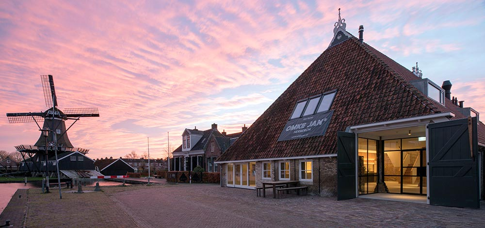 Renovation of a historic Dutch farmhouse into a vibrant meeting place