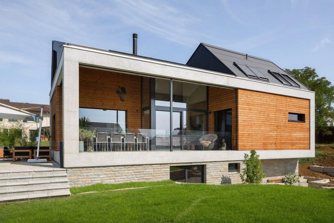Swiss Simplicity: Where Modern Meets Traditional Home In Simple Shapes And  Forms. Home Design
