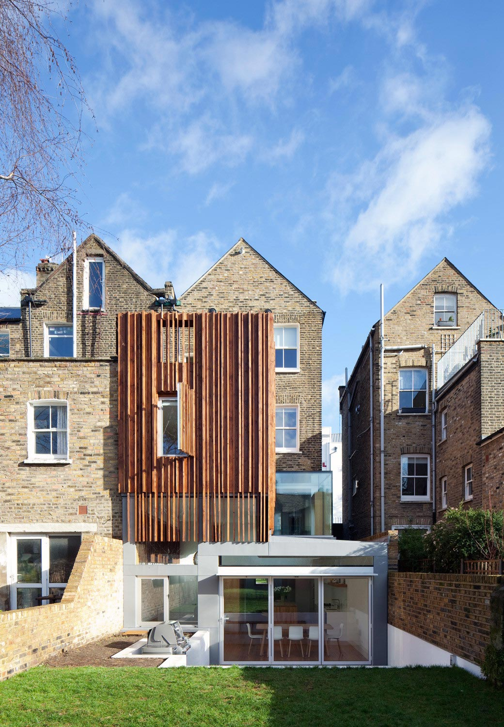 Typical London Victorian Terraced House Redesigned With