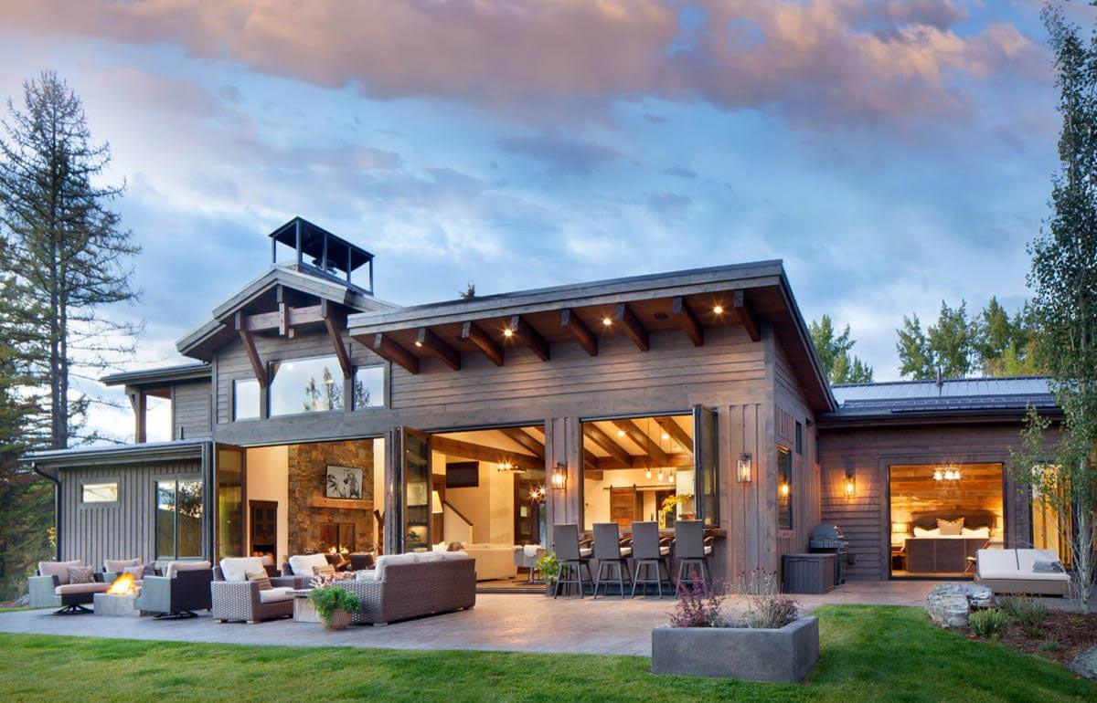 Whitefish Mountain Residence By Sage Interior Design Caandesign