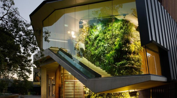 Adelaide Zoo Entrance Precinct comprises a series of interlinked forecourts designed by Hassell