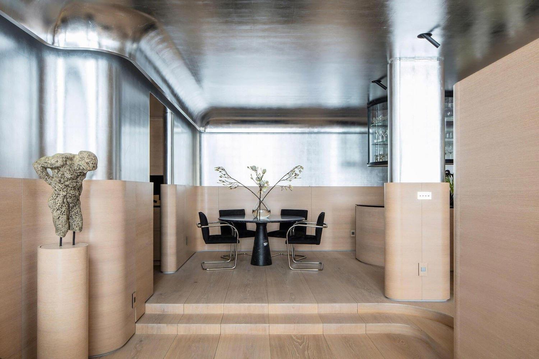 Art deco minimalism apartment manhattan designed ghiora aharoni