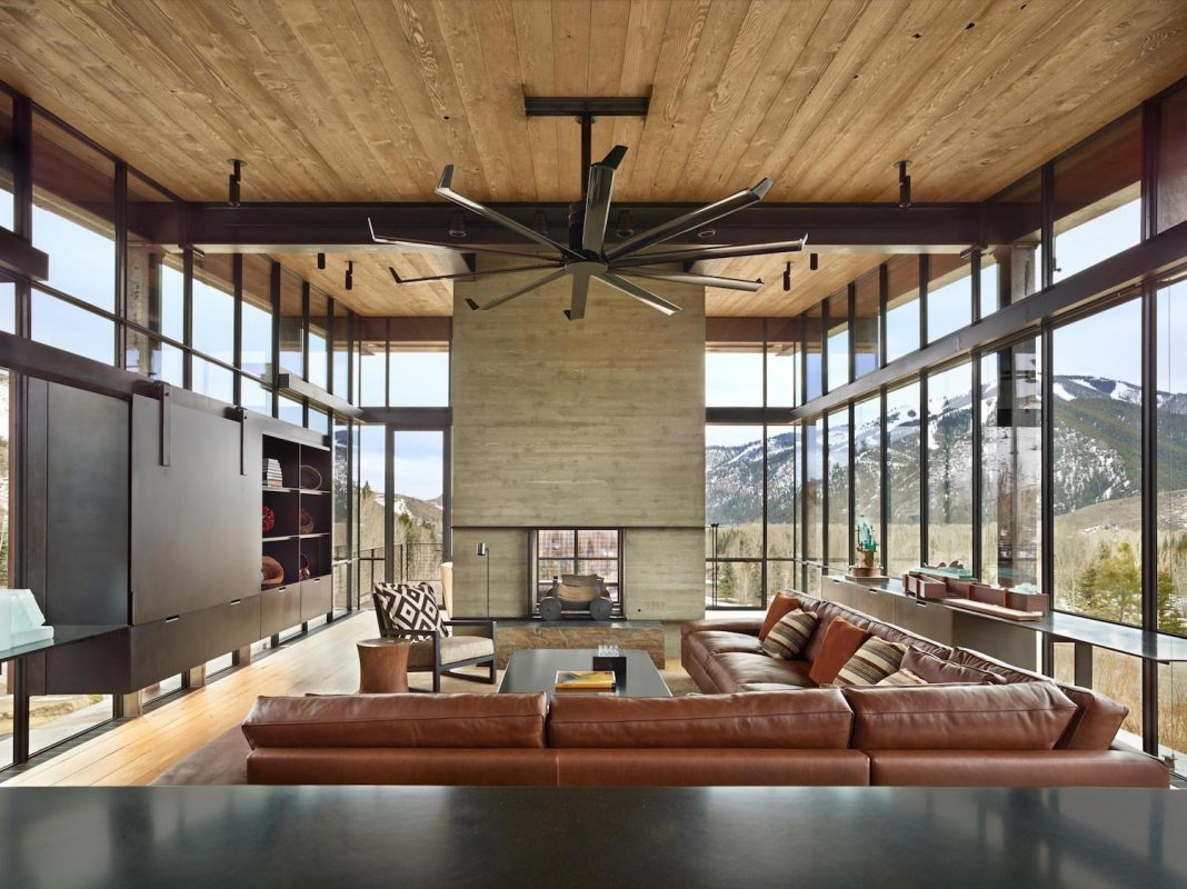 Bigwood by Olson Kundig: modern house that would feel authentic to the high desert mountain landscape