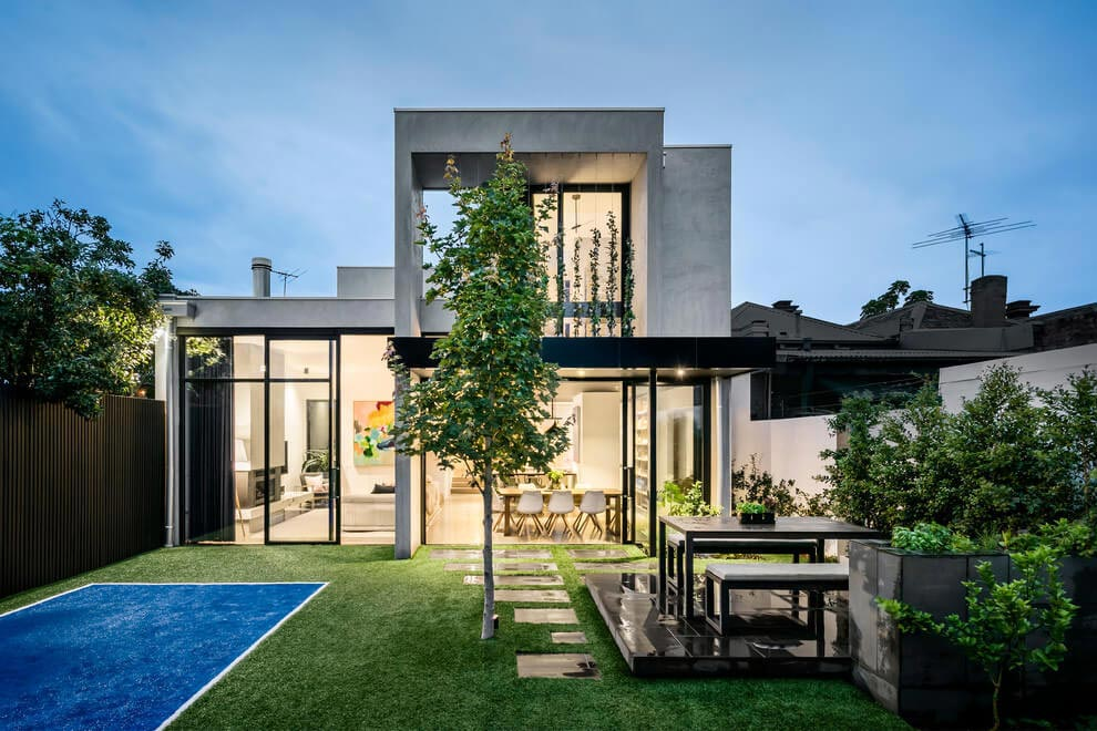 Breathtaking transformation of double fronted freestanding Victorian residence by Kirsty Ristevski