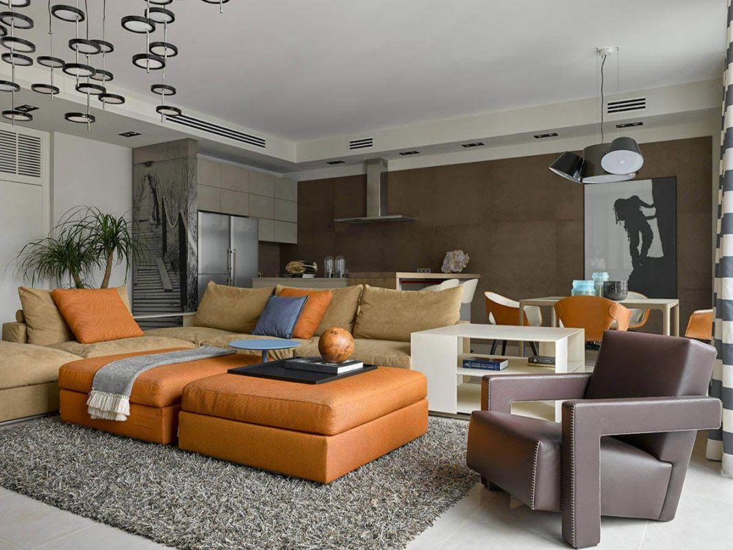 Breathtakingly apartment located in the heart of Moscow, Russia