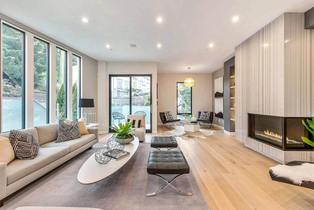 Bright And Modern Home Design In San Francisco By Vaso Peritos Interior