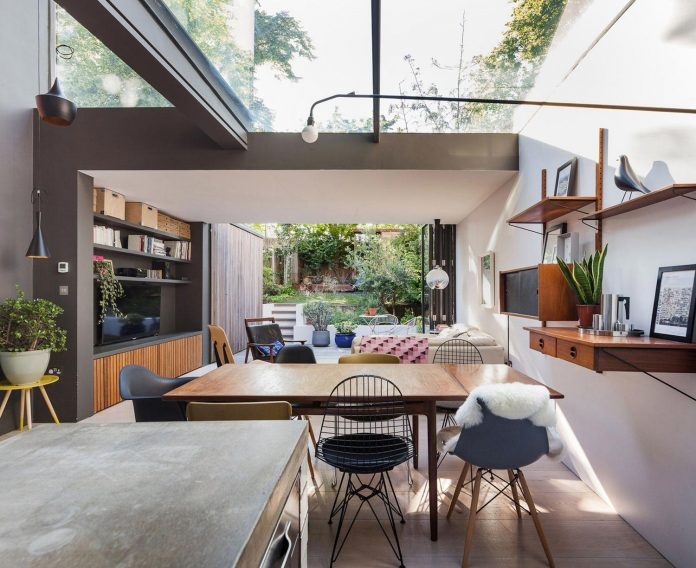 A Comprehensive Renovation Of A House To Create A Dramatic