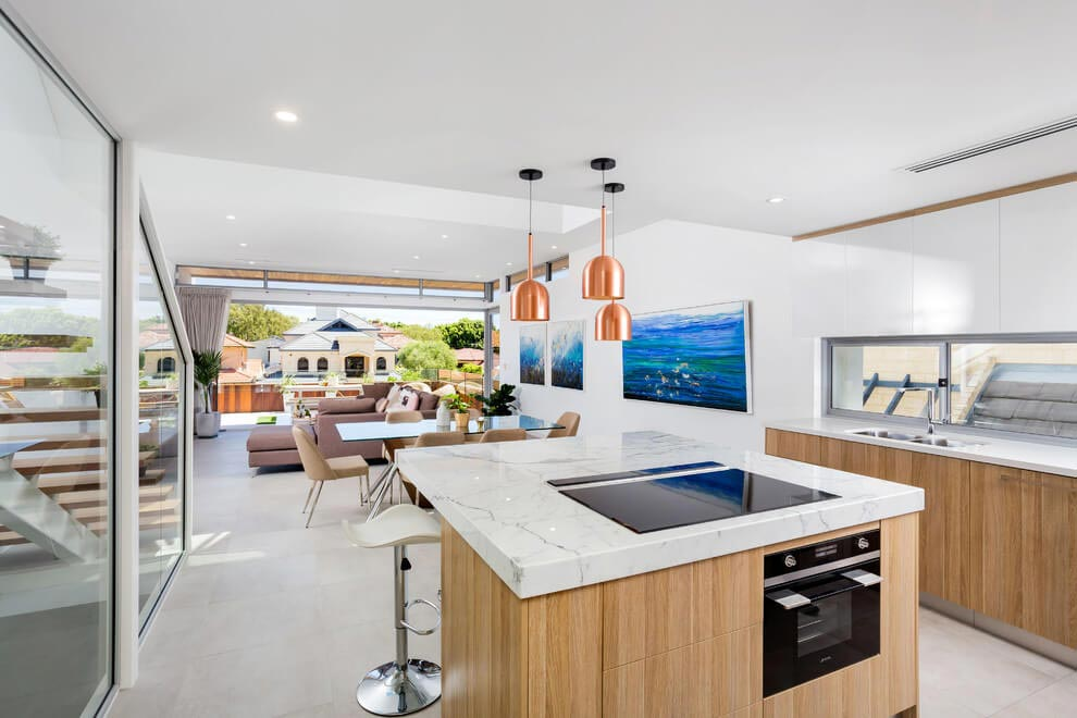 Crib Creative designed a contemporary bright home situated in Eltham North, Melbourne