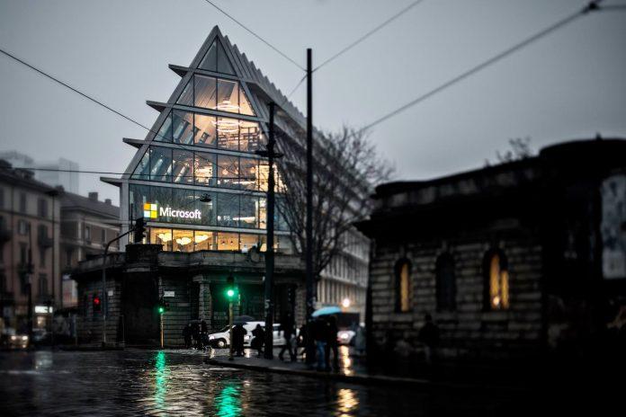 DEGW has designed the interior spaces for Microsoft inside Herzog ...