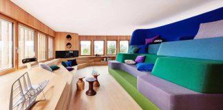 Eco wooden stylish home in Erkheim, Germany designed by Alfredo Häberli