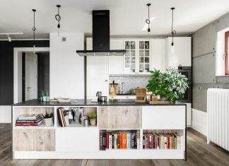 Fabryka Wnętrz designed a creative apartment located in the Polish city of Gdansk