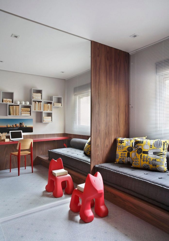 home with a welcoming atmosphere that carries the playful. Black Bedroom Furniture Sets. Home Design Ideas