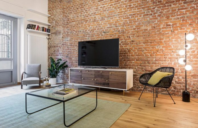 Industrial building transformed into stylish contemporary for Household design shoreditch