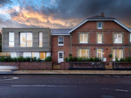 Ivanhoe Terrace in the heart of the Winchester Conservation Area by OB Architecture