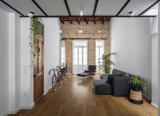 Loft renovation with the fundamental work based on removing and choosing what is going to stay