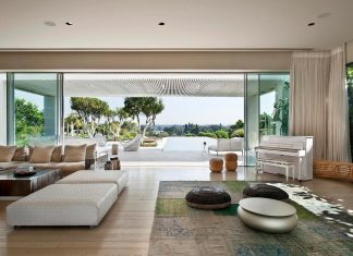 Modern home that gives a sense of freedom and space with maximum modesty and warmth