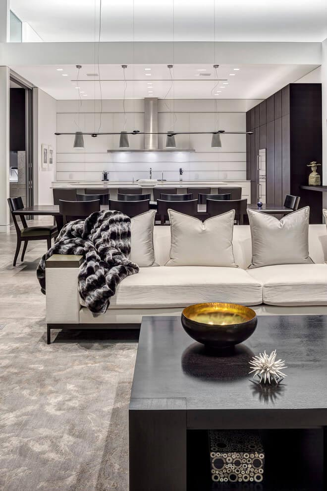 One story modern palm springs open house by cioffi for Modern home decor palm springs