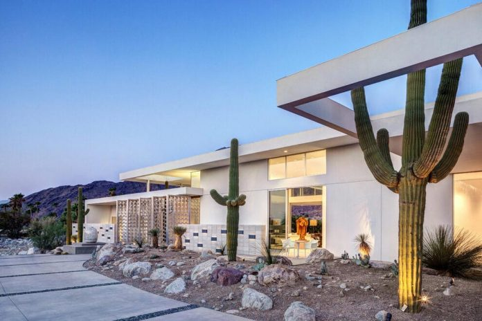 One Story Modern Palm Springs Open House By Cioffi