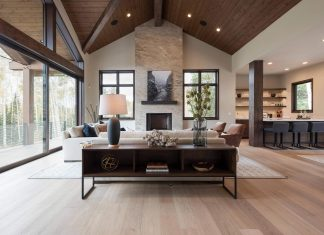 Phillips Development designed a contemporary dream mountain residence in Park City, Utah