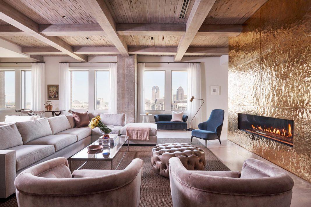 R Brant Design has designed the luxurious Stoneleigh apartment in ...