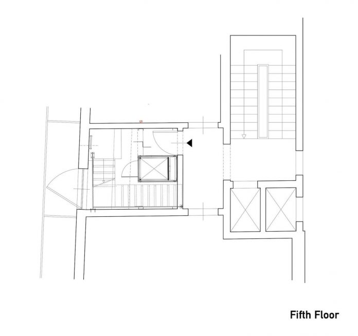 Sycamore Terrace Apartments: The Reconstruction Of An Apartment On Two Levels By