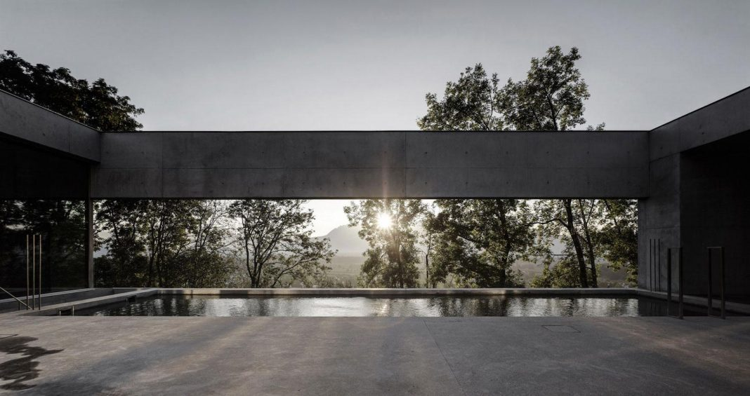 Shockingly beautiful concrete home designed by Marte.Marte Architects in Austria