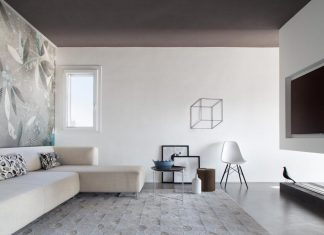 Simple and stylish minimalist apartment designed by Studio Tenca & Associati in Milan