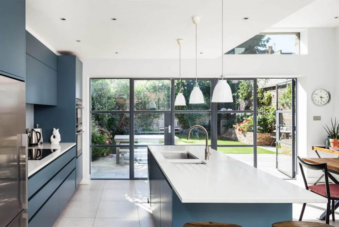 Slot House By Au Architects Remodels A London End Of