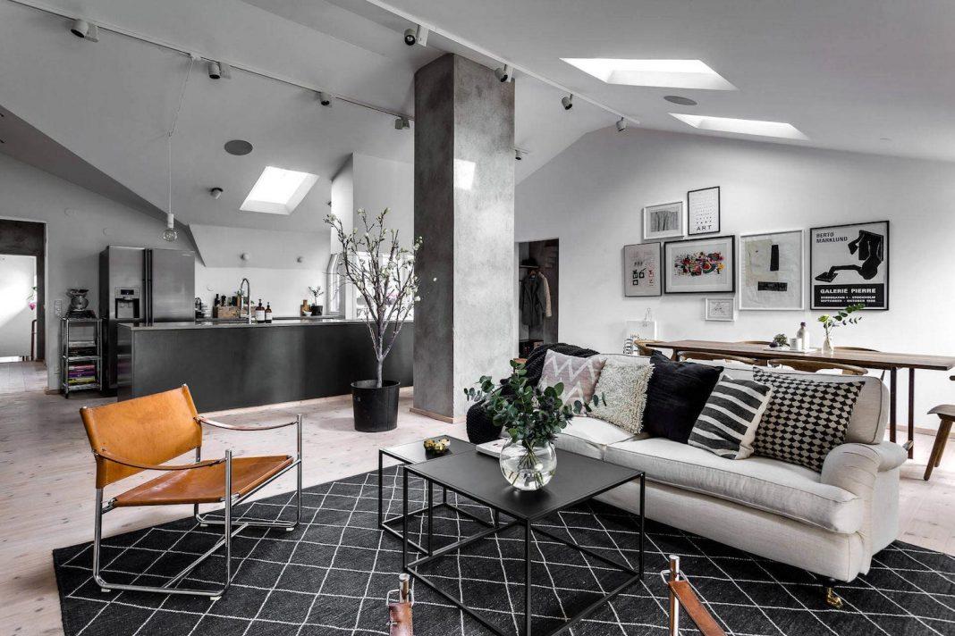 A stylish apartment designed by DesignFolder in Stockholm, Sweden