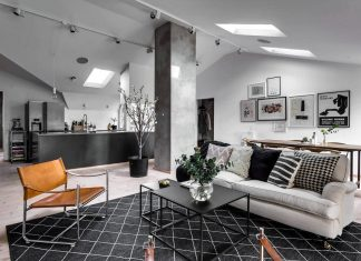 A stylish apartment designed by DesignFolder in Stockholm, Sweden