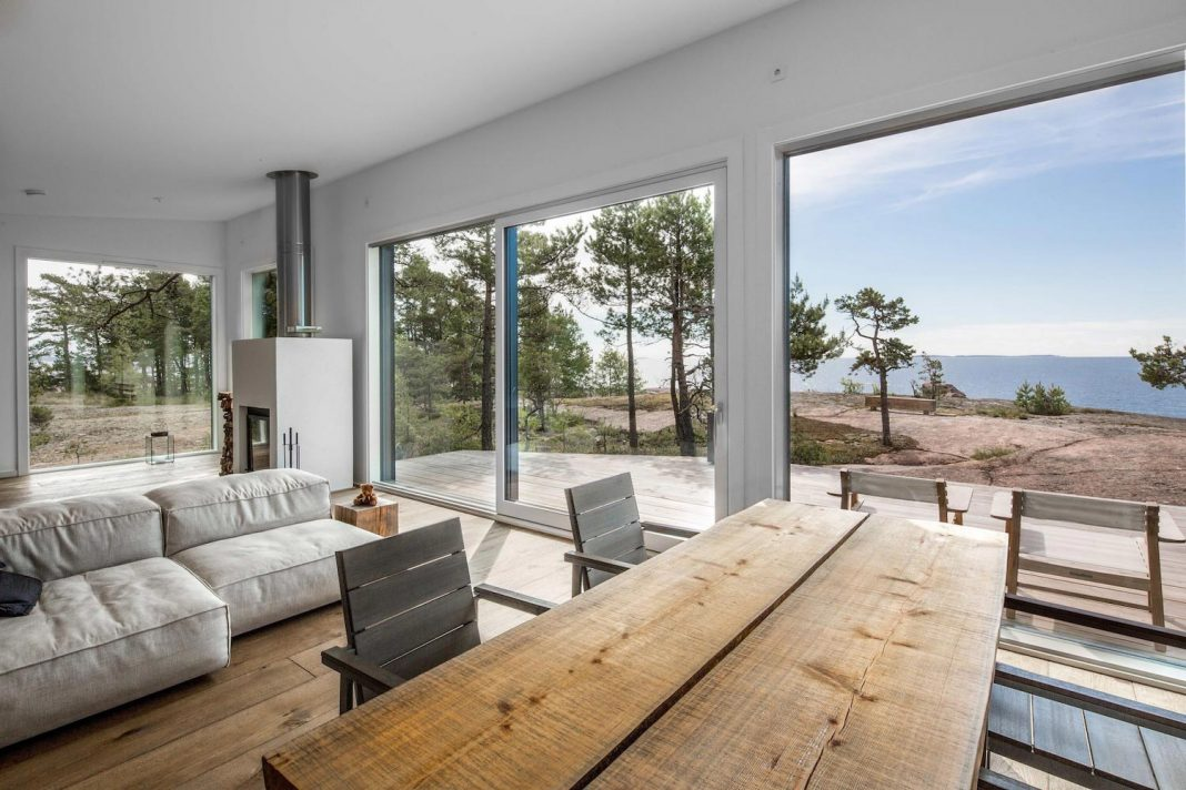 Summer House on the unique rocky land on the Baltic Sea Island by ...
