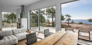 Summer House on the unique rocky land on the Baltic Sea Island by Pluspuu Oy