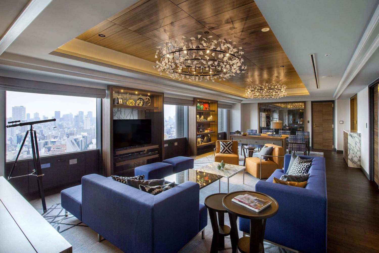 Swiss tel nankai osaka luxury apartment designed by design for Design hotel osaka