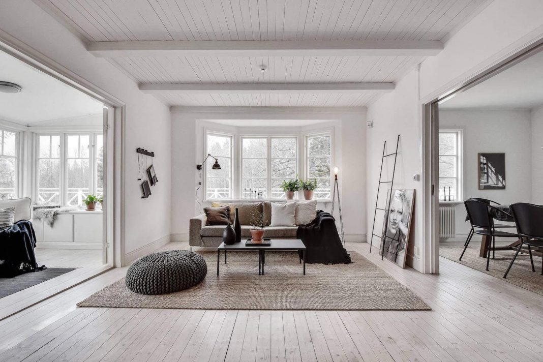 Traditional scandinavian home in tyres designed by inne for Traditional swedish house plans