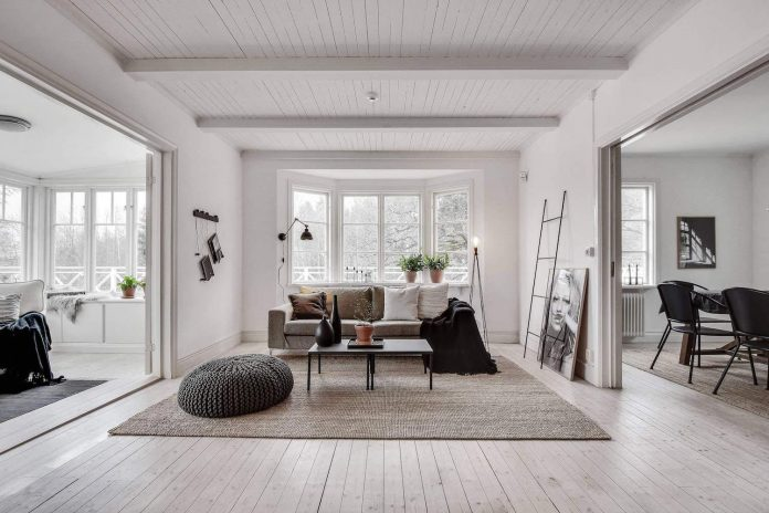 traditional scandinavian home in tyres designed by inne