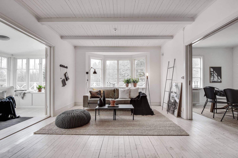 Traditional Scandinavian Home Tyreso Designed Inne 02 Caandesign