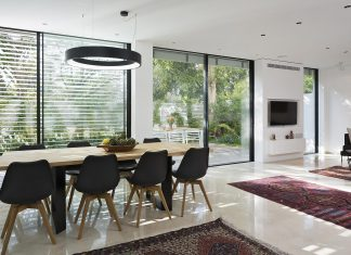 Transformation of the spaces and rethink the home for a clean minimalistic environment