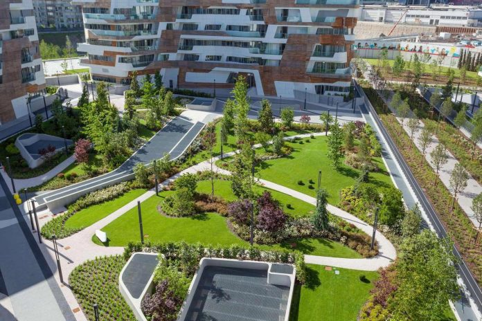 Ultra modern penthouse one 11 by milano contract district for Garden designer milano