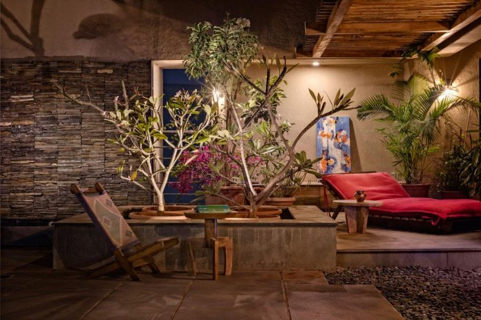 Veranda On A Roof By Studio Course Conjures Up An Image Of
