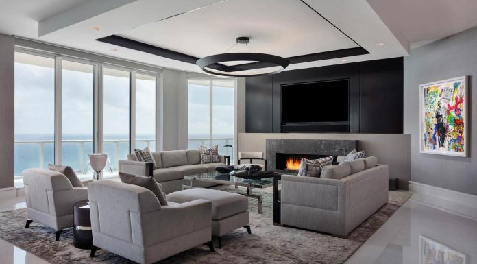 West Palm Beach Luxury Penthouse by Willoughby Construction